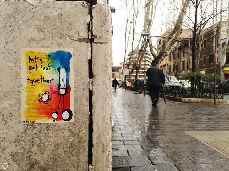 My Dog Sighs in Rome poster