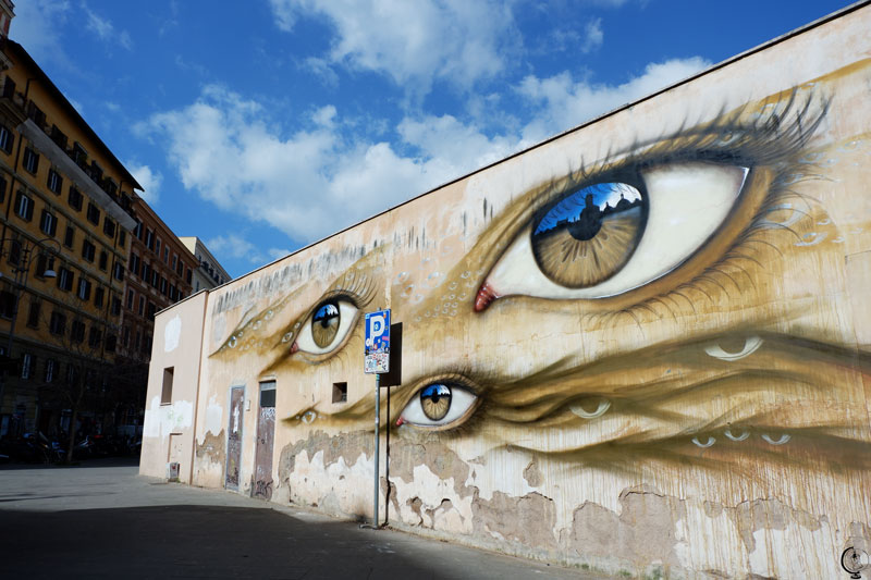 My Dog Sighs Trastevere Roma