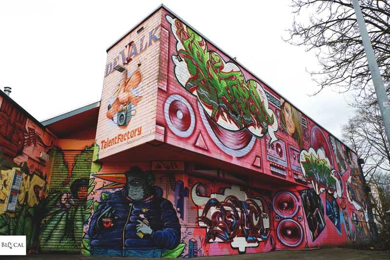graffiti amsterdam de valk