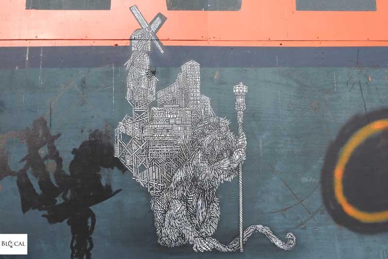 monkeybird street art amsterdam noord
