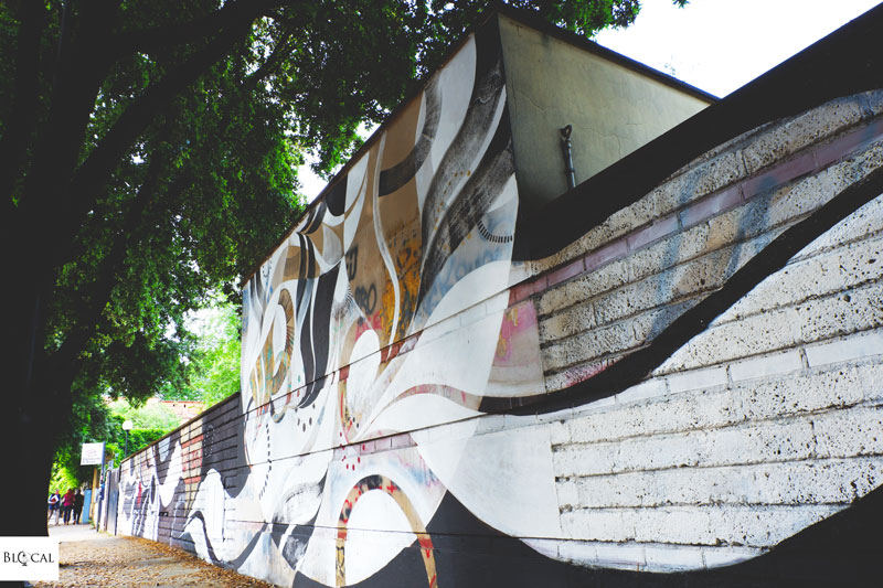 Lucy McLauchlan in Rome