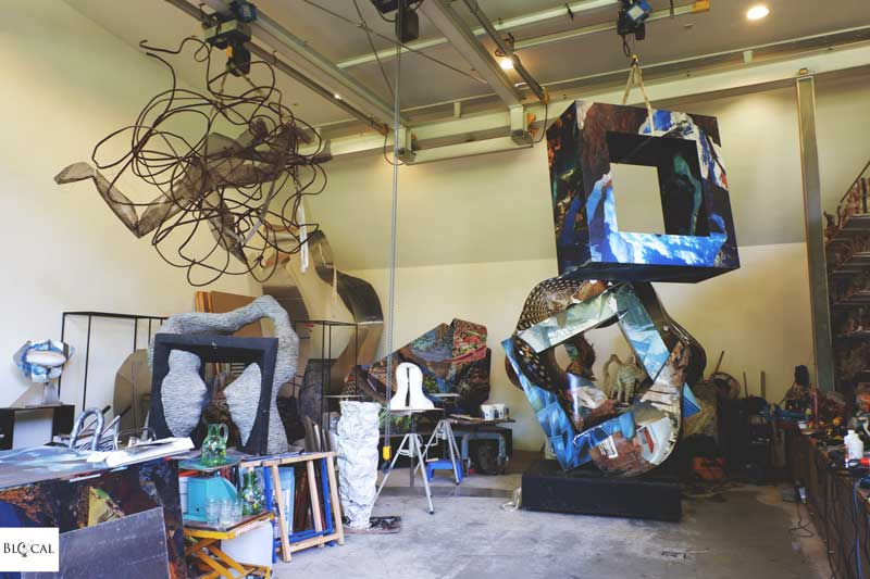 Pépé Gregoire's Atelier in Laren