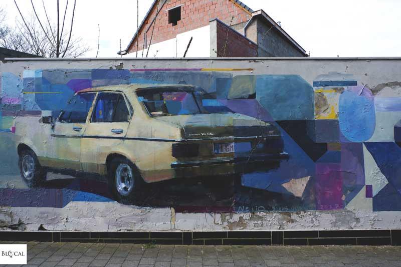 nelio velasco street art in oostende map