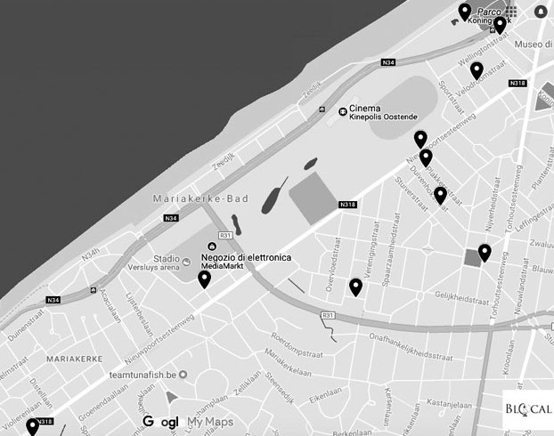 ostend street art guide map