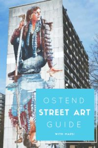 ostend street art guide with maps