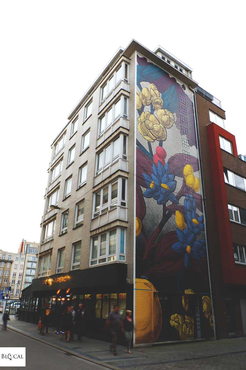 pastel street art in ostend maps