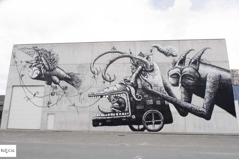 phlegm where to find street art in ostend maps