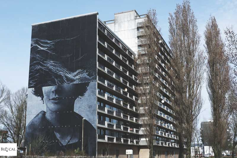 ricky lee gordon mural in ostend belgium
