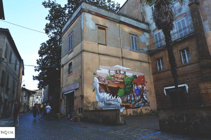 alessandra carloni street art acquapendente