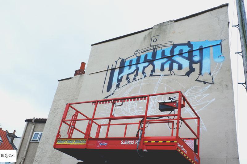 inkie upfest bristol street art festival