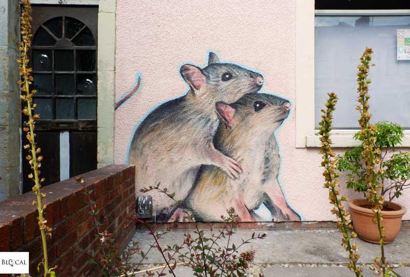 irony upfest bristol street art