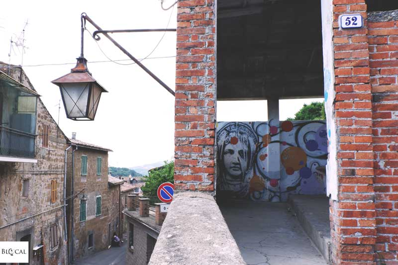 kadmeia street art in italy acquapendente