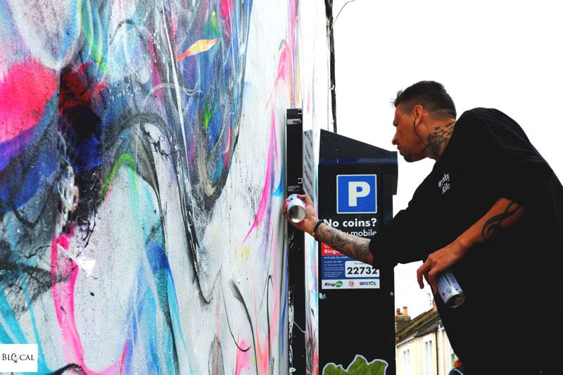 L7M upfest bristol street art festival