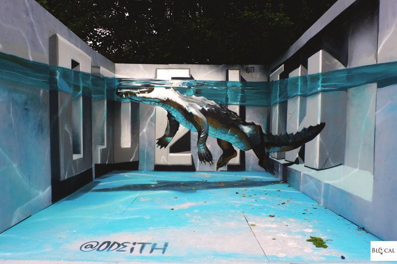 odeith alligator upfest 2018 bristol street art festival
