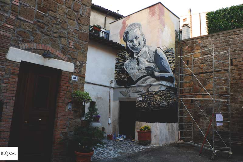 ringo tattoo art street art in acquapendente italy