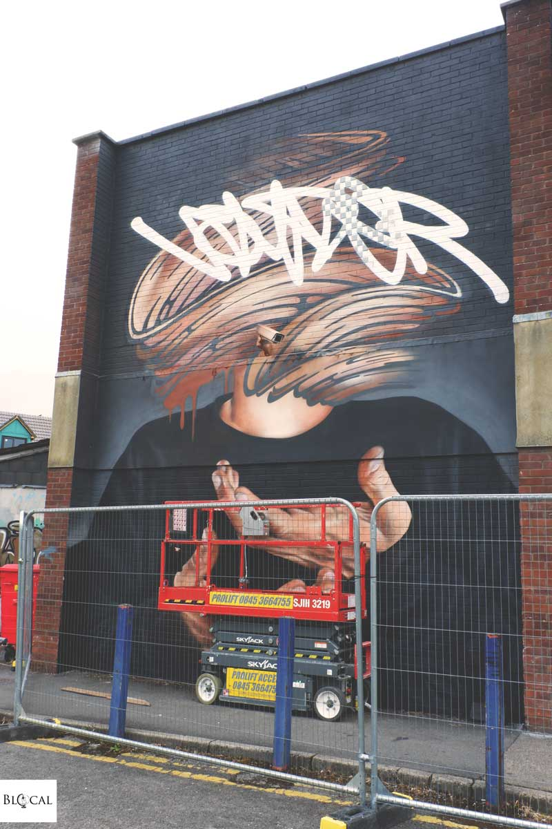 voyder upfest 2018 bristol street art festival