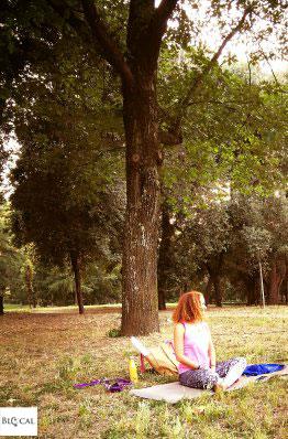 yoga villa borghese Roma