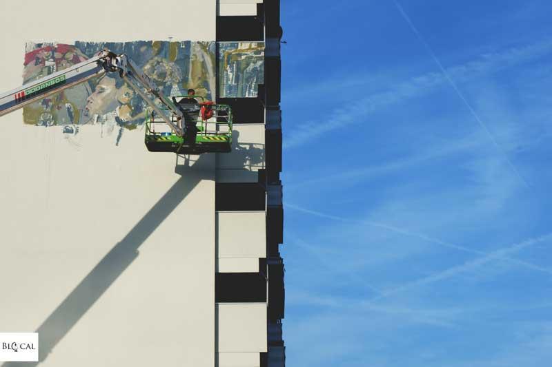 Ammar Abo Bakr street art in Amsterdam Zuidoost RUA