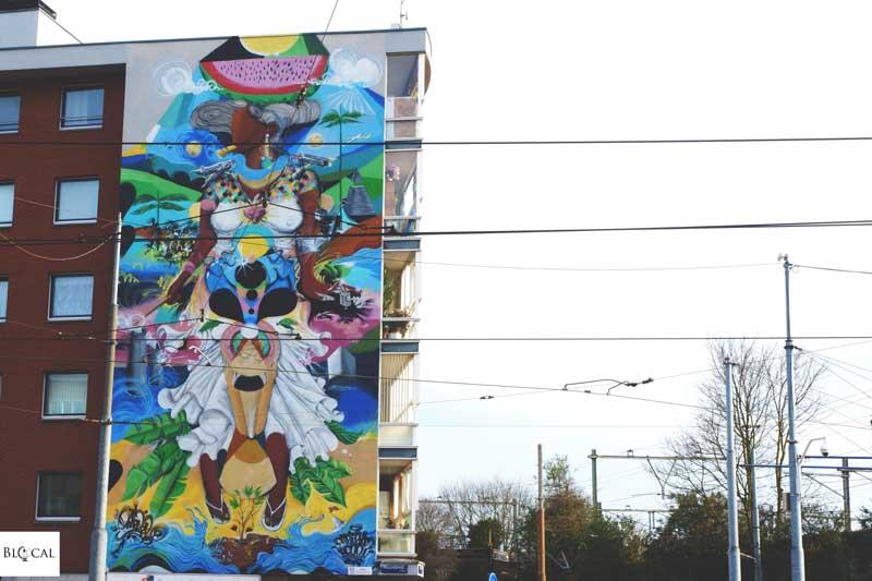 Diego Dedablio Amsterdam Street art