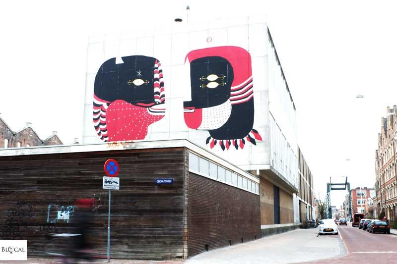 Fefe Talavera Amsterdam street art