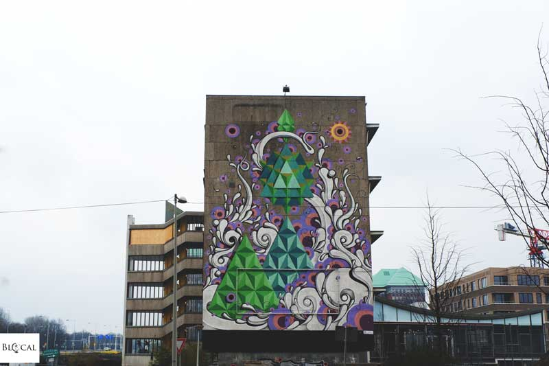 Highraff Amsterdam street art