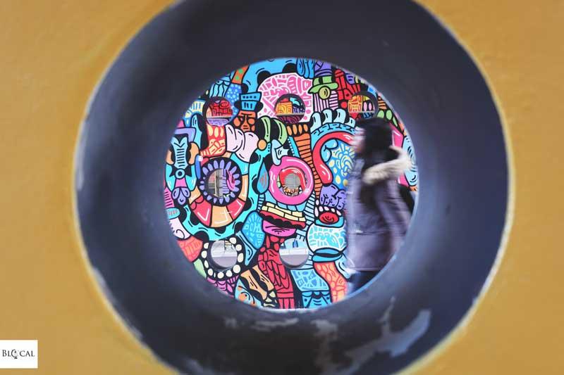 Onio street art in Amsterdam