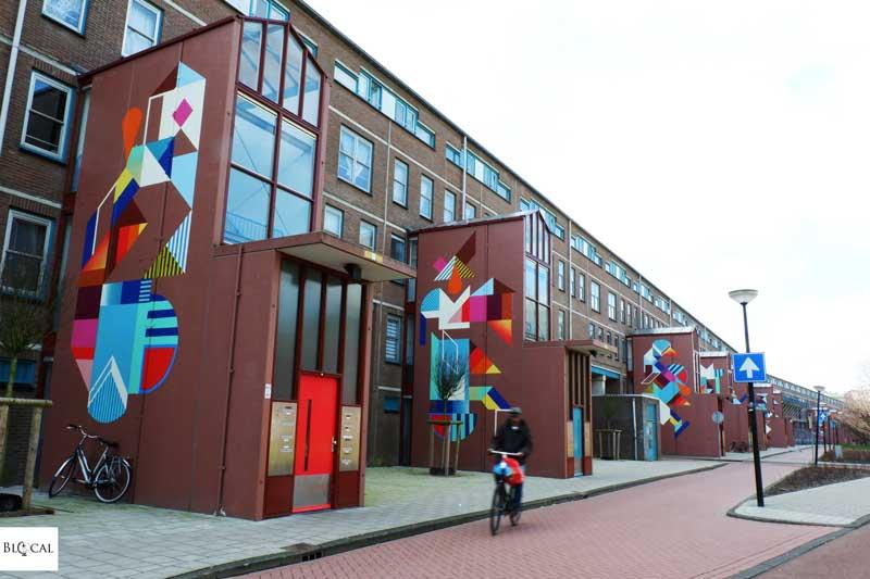 Ovni street art in Amsterdam
