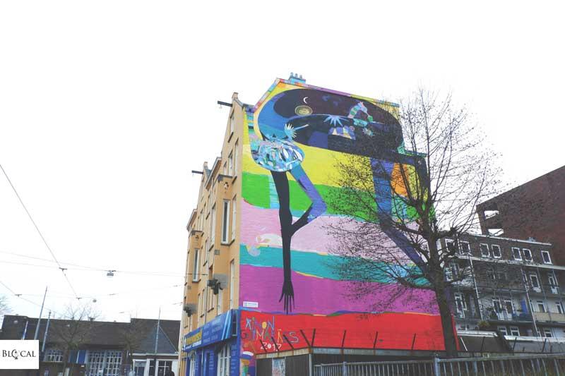 Rimon Guimaraes Amsterdam street art