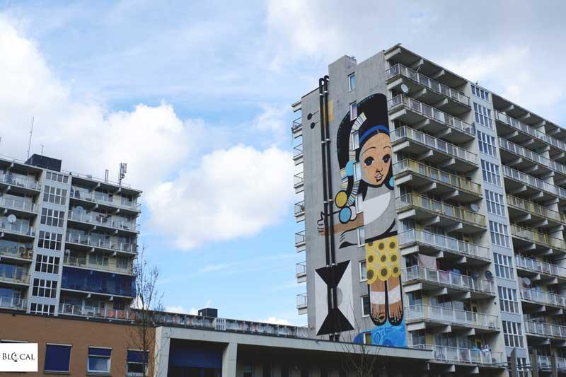 peto street art in Amsterdam