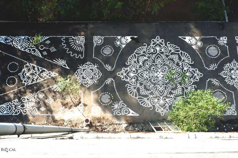 ALI street art ibug 2018