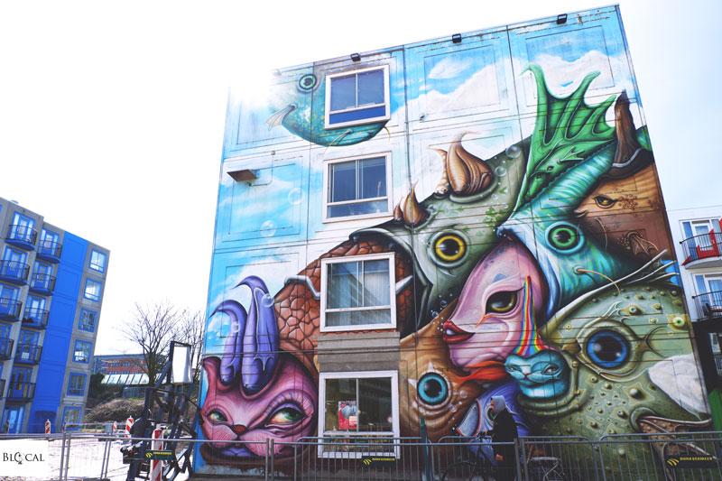 dalata street art amsterdam zuidoost