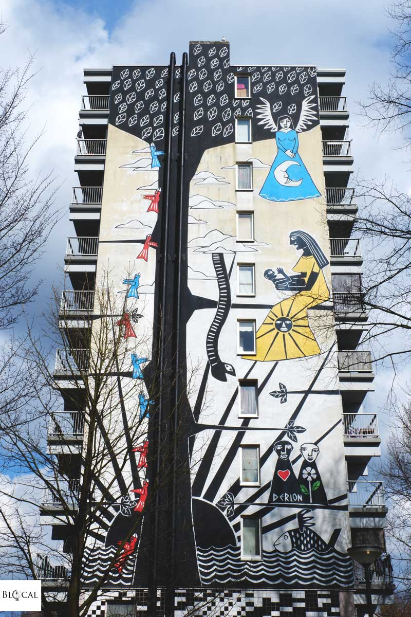 derlon street art amsterdam rua project