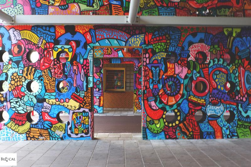 Onio street art in Amsterdam zuidoost