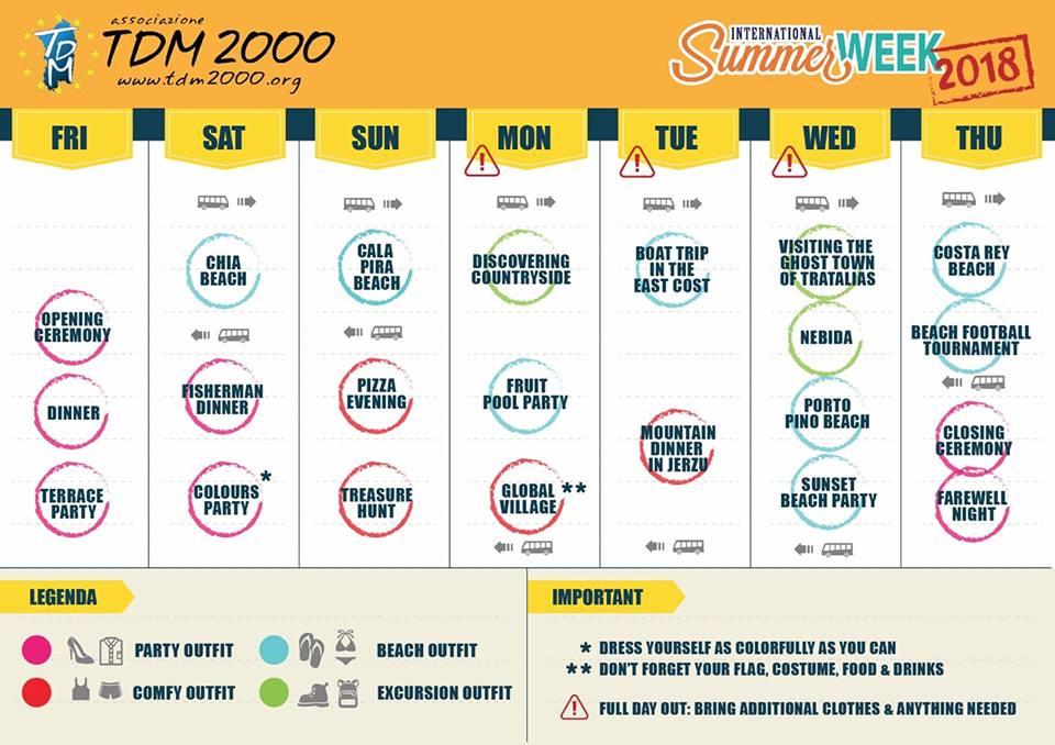 international summer week programme