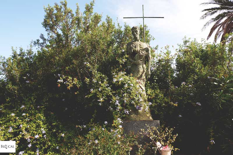 bonaria cemetery in cagliari sardegna