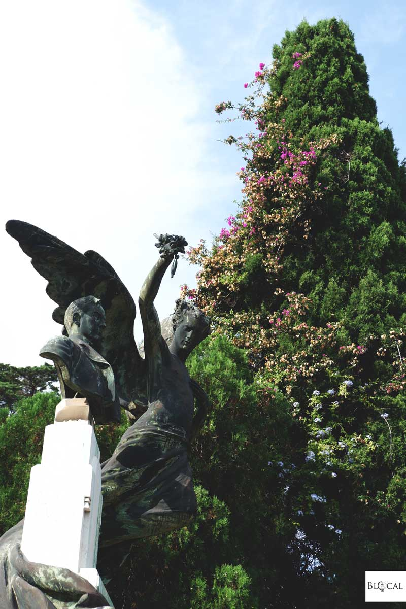 monumental cemetery cagliari sardinia