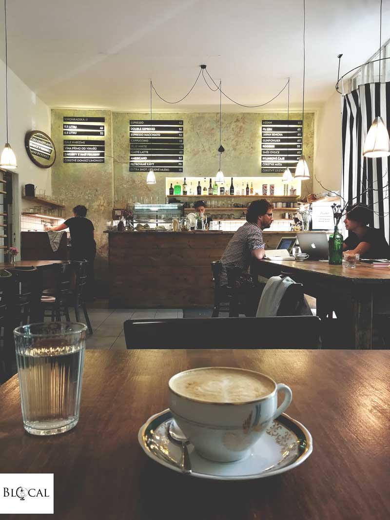 pod lipami café prague
