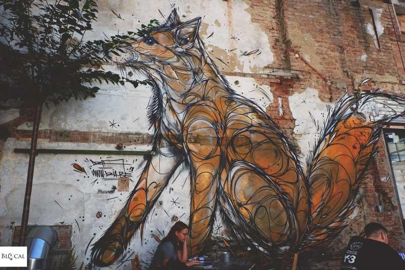 dzia vintroblock street art prague