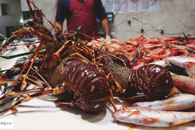 fish market cagliari san benedetto