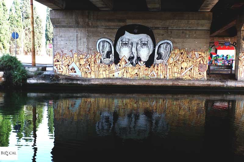 galleria del sale street art cagliari