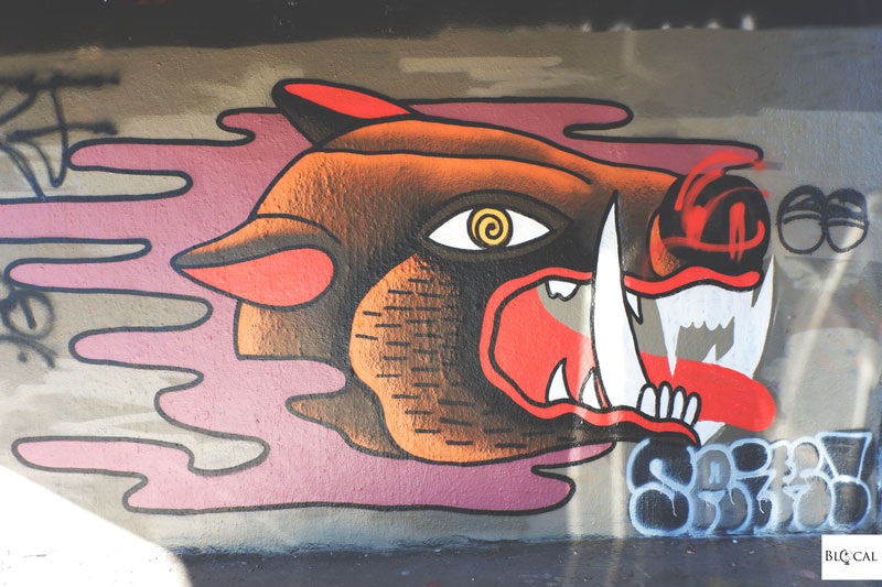 tesnov graffiti hall of fame prague
