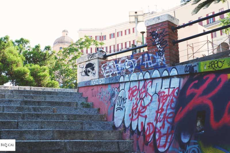 graffiti cagliari sardinia
