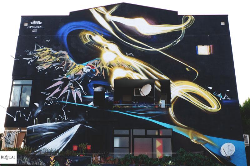 manu invisible street art cagliari exme pirri