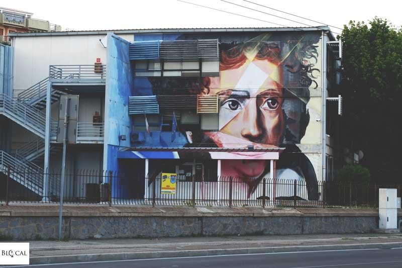 manu invisible ugo foscolo cagliari street art