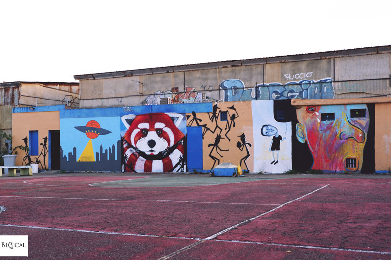 panda monserrato street art