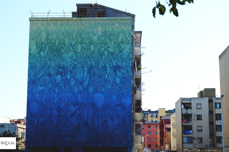 tellas street art cagliari via tevere