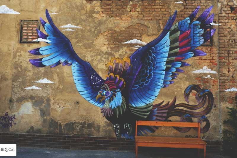 Frida Stiil Vium vintroblock street art prague