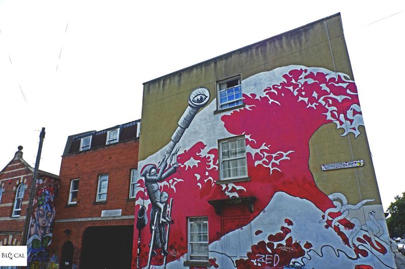 phlegm street art stokes croft bristol