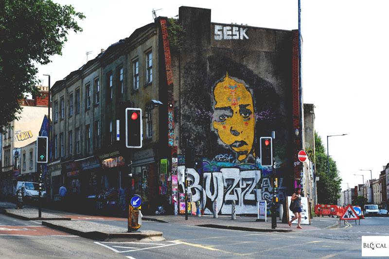 stinkfish street art stokes croft bristol