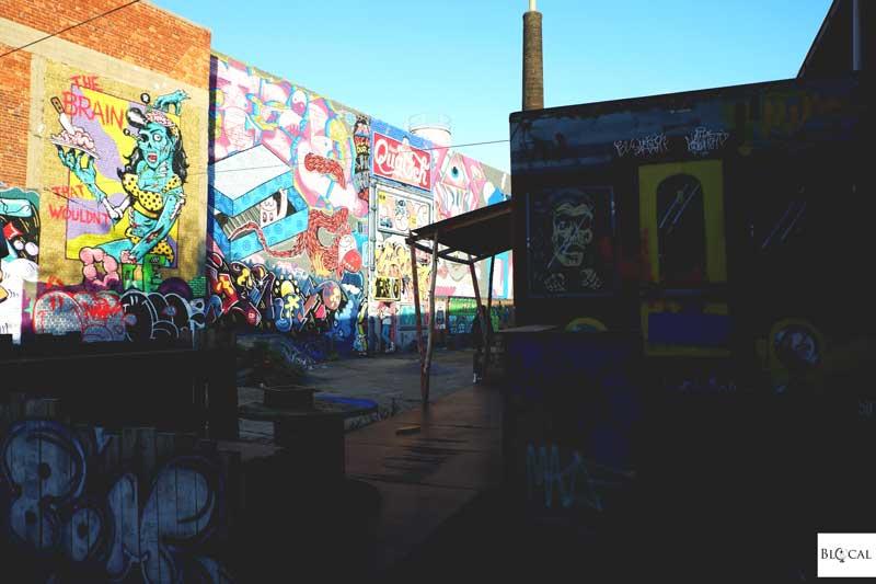 BIY skate park street art in ghent